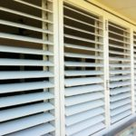 New Budget Supplies louvres installed in a property