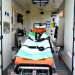 picture of ambulance for the one stop hospital, healthcare complex in kingston jamaica